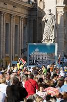 Papal appearance, Vatican City, Italy