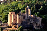 France, Lot et Garonne, Bonaguil, 15th and 16th century castle