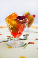 Jello in a Glass Dessert Dish