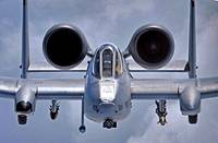 U S  Air Force Capt  Andrew Quinn pilots his OA/A-10 Thunderbolt II observation/attack aircraft to a position behind a KC-135R/T Stratotanker air refu...