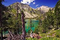 Lago de Aubert  Reserva Natural de Néouvielle. French Pyrenees, France