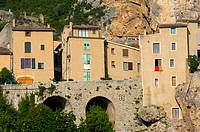 Moustiers Sainte Marie, Alpes de Haute Provence, Provence, France, Europe