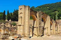 Ruins of Medina Azahara, palace-city built by caliph Abd al-Rahman III. Cordoba province, Andalusia, Spain