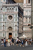 Italy, Tuscany, Florence, Santa Maria del Fiore Cathedral listed as World Heritage by UNESCO