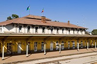 Ethiopia, Addis Ababa, the station built by the french