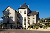 France, Savoie, Aix les Bains, Town hall, a 16th century medieval castle