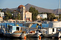 Greece, Saronic Gulf, Aegina Island, Aegina City