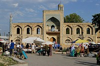 Uzbekistan, Ferghana valley, Namangan, an old medersa