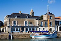 France, Vendee, Ile de Noirmoutier, Noirmoutier en l´Ile, quays
