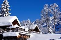 France, Haute Savoie, La Clusaz