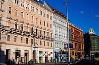 Hungary, Budapest, Pest District, Blaha Lujza Square