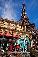 United States, Nevada, Las Vegas, The Strip, Paris Las Vegas Hotel and Casino, Mon ami Gabi Restaurant