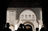 Morocco, Marrakesh, imperial city, medina listed as World Heritage by UNESCO, medersa Ben Youssef islamic school