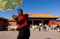 China, Beijing, Forbidden City, listed as World Heritage by UNESCO, Qianqingmen Gate Gate of Celestial Purity