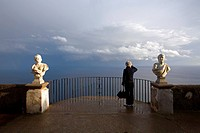Italy, Campania, Amalfi Coast, listed as World Heritage by UNESCO, Ravello, Villa Cimbrone Garden