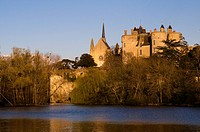 France, Maine_et_Loire, Loire Valley listed as World Heritage by UNESCO, Chateau de Montreuil_Bellay