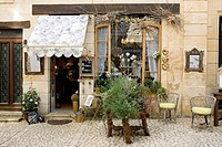 France, Dordogne, Perigord Pourpre, Beaumont du Perigord, Prudence perfumer shop in Rue Ratier
