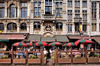 Belgium, Brussels, historical centre, Grand´ Place listed as World Heritage by UNESCO, Chaloupe d´Or Cafe