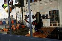 France, Bouches du Rhone, Marseille, Le Potier 13 Marseillais, potter´s workshop