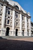 Italy, Lombardy, Milan, Piazza Affari Square, Stock Exchange