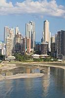 Avenue Balboa and Punta Paitilla, Panama City, Panama