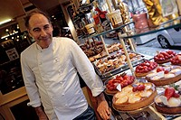 France, Isere , Grenoble, Paris Delice Shop owned by Alain Guinet chocolate maker, Meilleur Ouvrier de France The Best Workman of France