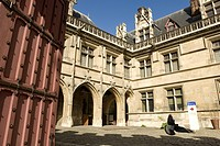 France, Paris, Musee du Moyen_Age Middle Ages Museum, the former Hotel de Cluny