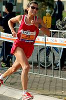 October 21st 2007 Amsterdam marathon  New Zealand Athlete Liza Hunter-Galvan