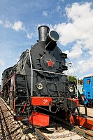 Soviet steam locomotive ER766  Built in 1949