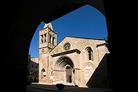 Iglesia de Santa Maria d´Agramunt  Románica  Siglo XII  España, Catalunya, provincia de Lleida, Urgell, Agramunt