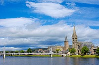 Inverness, Ness River, Scottish Highlands, Scotland