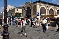 France, Yvelines, Versailles, Place du Marche Notre Dame