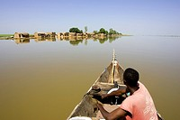 Mali, along Niger River