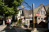 United States, California, Carmel_by_the_Sea, the Court of the Golden Bough, shopping mall