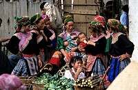 Vietnam, Flower Hmong ethnic group