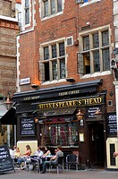 United Kingdom, London, Soho, Great Marlborough Street, Shakespeare´s Head Pub