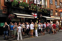 United Kingdom, London, Soho, Comptons Pub
