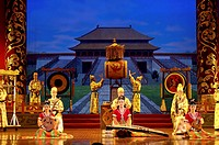 China, Shanxi, X´ian, Tang dynasty palace music and dance, Grand Opera house