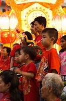 Thailand, Bangkok, New Year's Day in the Chinese Community