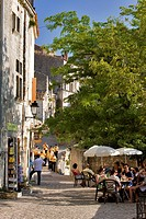 France, Bouches du Rhone, Alpilles, Les Baux de Provence, labelled Les Plus Beaux Villages de France The Most Beautiful Villages of France