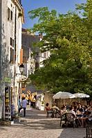 France, Bouches du Rhone, Alpilles, Les Baux de Provence, labelled Les Plus Beaux Villages de France The Most Beautiful Villages of France