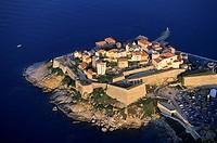 France, Haute Corse, Calvi aerial view