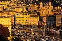 France, Haute Corse, Bastia, old harbour