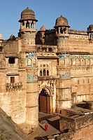 India, Madhya Pradesh, Gwalior, Man Mandir Palace