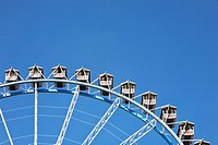 Detail of Ferris wheel at Oktoberfest, Munich, Germany