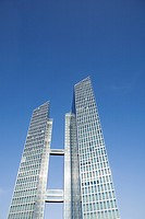 Modern Office buildings in Munich, Bavaria, Germany