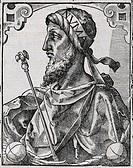 Numa Pompilius active around 700 BC, King of Rome. Numa was the second king of Rome, succeeding the legendary founder of Rome, Romulus. Numa is descri...