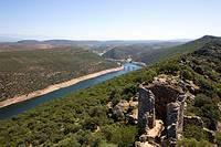 Tagus river, Monfragüe, Extremadura, Spain