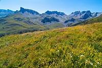 Valle de Hecho. Pyrenees. Huesca. Aragon. Spain.
