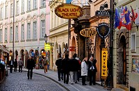 Czech Republic, Prague, shopping street